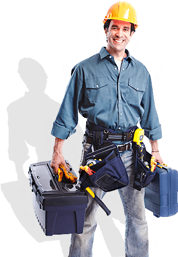man with tools 24 hours plumber